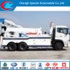 Dongfeng 10 de Vrachtwagen van Wrecker van het Wiel met Kraan