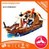 Nouveau château gonflable de videur de cour de jeu de bateau de pirate