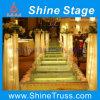 Leistungs-Stufe-Zeremonie-Stufe-Schule-Stufe-Glasstufe-Theater-Stufe