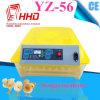 Цыплятина HHD миниая Egg автоматическая машина инкубатора насиживать для 56 яичек Ew-56