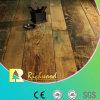Suelo laminado V-Grooved grabado AC4 del roble del hogar 12.3m m E1 HDF