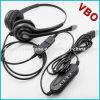 Stereofonische Hoofdtelefoon USB voor Call centre
