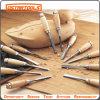 Insieme di giro di legno dello scalpello del HSS, scalpello di legno, falegnameria che intaglia strumento