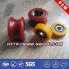 Kundenspezifische Soem-Qualität färbt Gummifußrolle