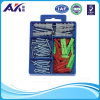 Buntes Ribbed Plastic Anchor Kit mit Screw