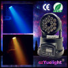 mini éclairage LED principal mobile de 18PCS 3W DEL RVB