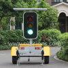 Energía solar móvil luces de señal de tráfico LED
