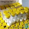 Polvo liofilizado péptidos de la pureza elevada 10mg/Vial Mt-2 para broncear de la piel