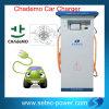 La voiture électrique EV jeûnent station de charge