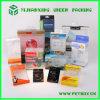 Impression se pliante de boîte de Cmyk de couleurs du plastique PVC/Pet/PP 4