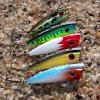 Plastic duro Surface Popper Lure per Big Bass Fishing