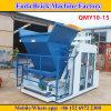 Macchina concreta automatica mobile del blocchetto di stenditura dell'uovo di grande capienza Qmy10-15