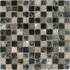 El vidrio cristalino del crujido 25*25 embaldosa el mosaico para la pared
