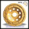 Row dobro Diamond Cup Wheels para Concrete e Epoxy