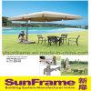 Алюминиевый большой зонтик Roma для района сада