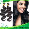 Cheveux lâches de vague de vison brésilien de Remy, prolongation de cheveux humains de Vierge