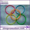 Preiswerte kundenspezifische Form-Paare verdünnen Sport-Silikon-Armbänder