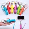 Ручка Selfie кабеля Monopod всеобщей роскошной радуги миниая для Android Ios
