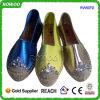 Les chaussures d'espadrilles de jute de toile de mode vendent le constructeur en gros (RW50712C)