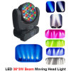 Luz principal móvil de la viga de la iluminación 36PCS 3W del LED