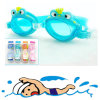 Childrenのための熱いSelling Frog Silicone Swimming Goggles Swimming Glasses