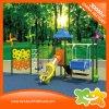Многофункциональное скольжение пробки и оборудование спортивной площадки качания установленное для детей