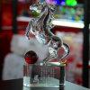 Handmade кристаллический рисунок лошадь животных (KS04041)