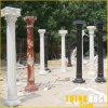 Granite de mármol Travertine Stone Pillars para romano Column Baluster