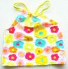 Swimwear con la stampa del fiore per la maglia sveglia di disegno di Girls+Soft Swimsuit+Kids (XMF-b33)