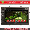 Reproductor de DVD del coche para el reproductor de DVD de Pure Android 4.4 Car con A9 CPU Capacitive Touch Screen GPS Bluetooth para Chevrolet Cobalt/Spin (AD-7167)