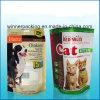 Nouveau sac de empaquetage en plastique personnalisé durable d'aliment pour animaux familiers