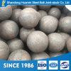 Высокий кром и низко сломанный шарик 100mm меля стальной для стана шарика