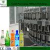 máquina de rellenar de la bebida de la soda de la botella de cristal 3-in-1 para el agua de soda