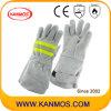 Промышленная безопасность натуральной кожи Сварка перчатки (11123)