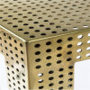 Aluminum anodizzato Perforated Mesh per Decoration