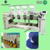 4 de hoofd Industriële Vlakke Machine van het Borduurwerk voor het Borduurwerk van de Brief GLB van het Embleem b.v. 904c