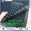 De antislip Met elkaar verbindende Stabiele RubberMat van de Weerstand van de Olie van de Mat van de Keuken van de Mat van de Drainage van de Mat Binnen Rubber Antislip Rubber