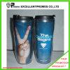 Anunciando o copo plástico feito sob encomenda do logotipo (EP-MB1026)
