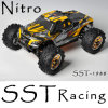 1/10 de caminhão de monstro do poder da escala 4WD RC nitro (SST-1988)