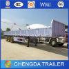 Semi-Trailer da carga 2015 3-Axle com a parede lateral para a venda