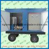 高圧産業洗濯機の熱交換器のクリーニング機械