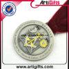 Qualitäts-Metalldecklack-Retro Medaille
