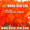 Rojo anaranjado del pigmento fluorescente ligero del día para la pintura a base de agua