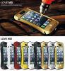 Caja de aluminio del metal para el Amor Mei iPhone5S