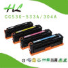 Kompatibles Color Toner Cartridge für Hochdruck (CC530-533A)