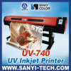 미국 UV-LED Lamp를 가진 Roll Flatbed UV Printer에 롤
