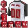 Il nome ed il numero bianchi rossi della Jersey di gioco del calcio di Wholesael Tampa Bay sono cuciti sul formato S-4XL dell'elite delle lettere