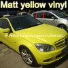 マットYellow Car Color Change Film、Car Wrapping Film、1.52X30m