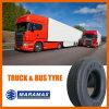 Essieu radial de guide de pneu de camion 12r22.5, moyen et interurbain
