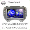 Reproductor de DVD del coche para Nissan marcha